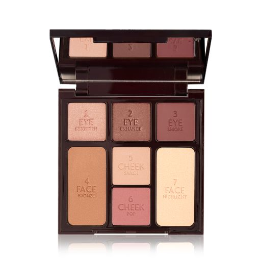 Instant Look in a Palette Gorgeous Glowing Beauty Open Pack Shot