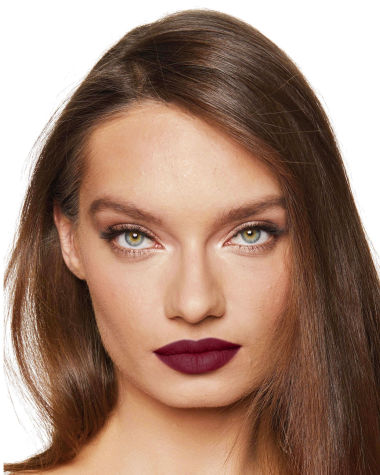 Charlotte Tilbury Matte Revolution Glastonbury Lipstick Lips Model