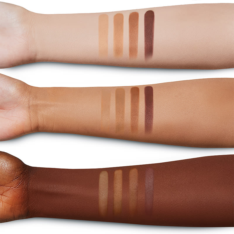 1x1 bronzer arm swatches