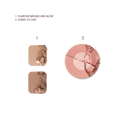 Bronzed Blushing Beauty Kit Swatch
