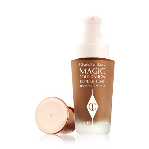 CHARLOTTE TILBURY-MAGIC FOUNDATION-LID OFF#10