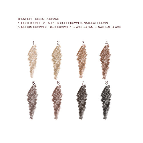 Brow Lift Swatches Per Shade
