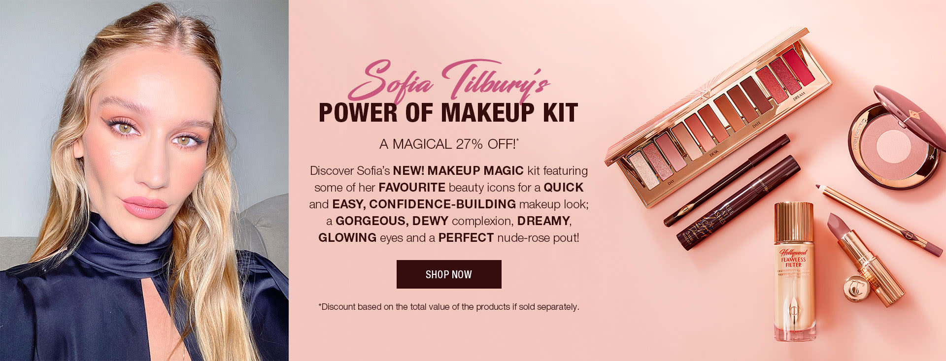 Sofia Power of Makeup bundle