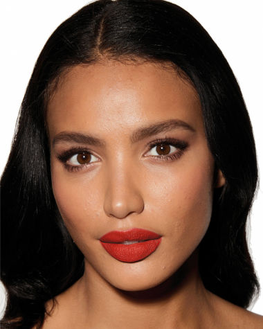 Charlotte Tilbury Hot Lips 2 Red Hot Susan Model 13