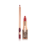 luscious lip slick Glowing Jen lipstick and lip liner
