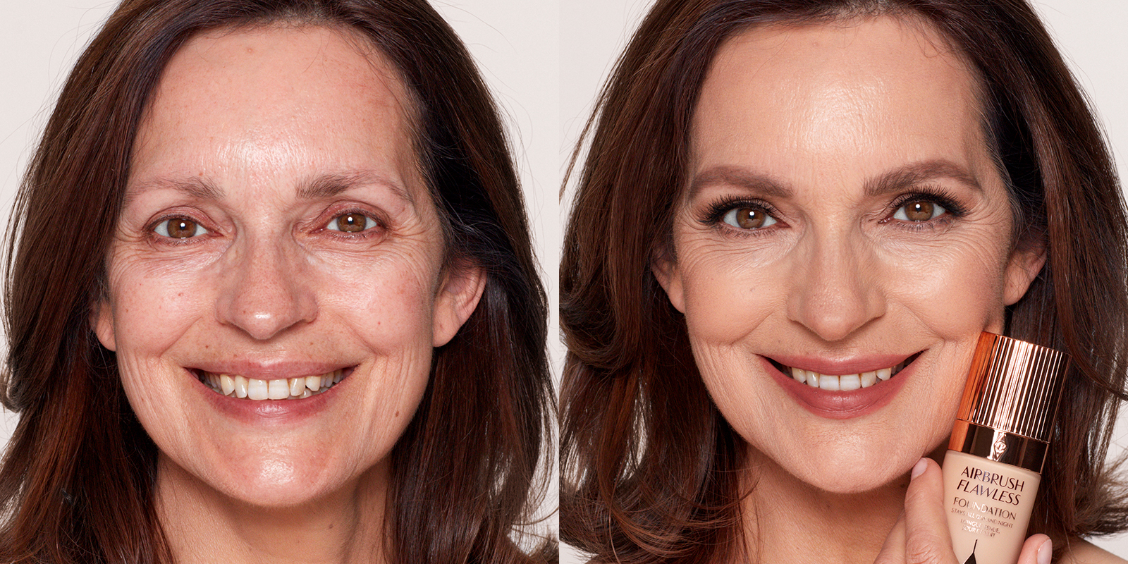 how to apply makeup on mature skin