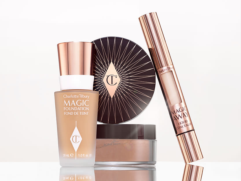 Charlotte Tilbury Magic Foundation, Magic Away Concealer and Genius Magic Powder
