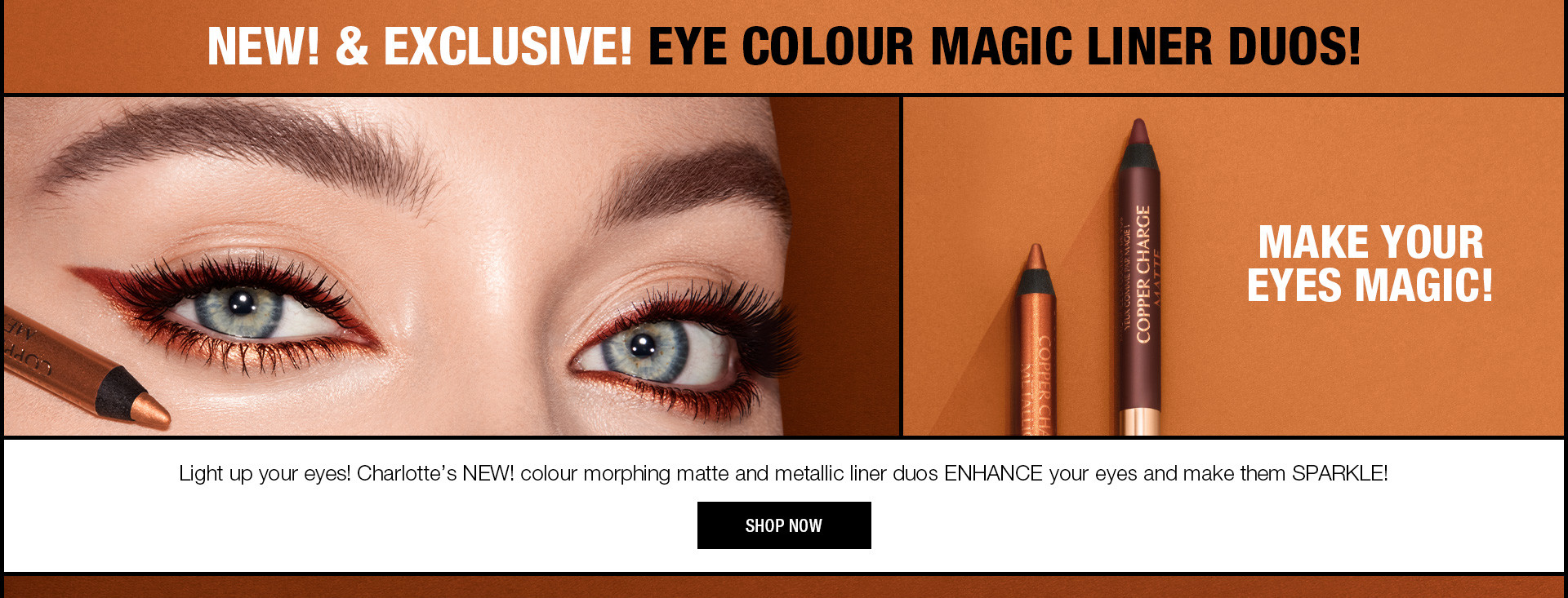 Eye Colour Magic Eyeliners