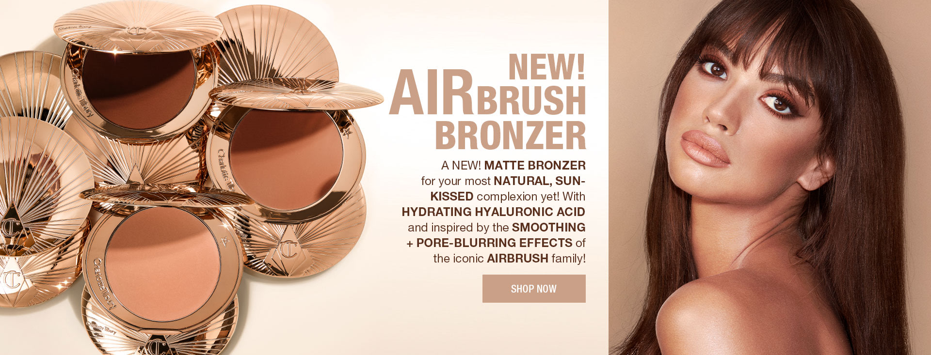Airbrush Bronzer Launch