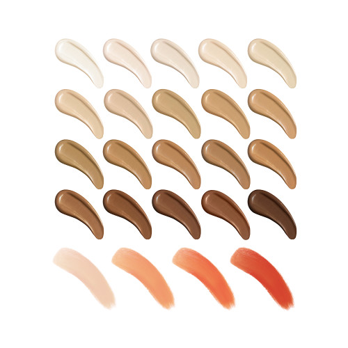 Conceal and Correct Kit Swatches