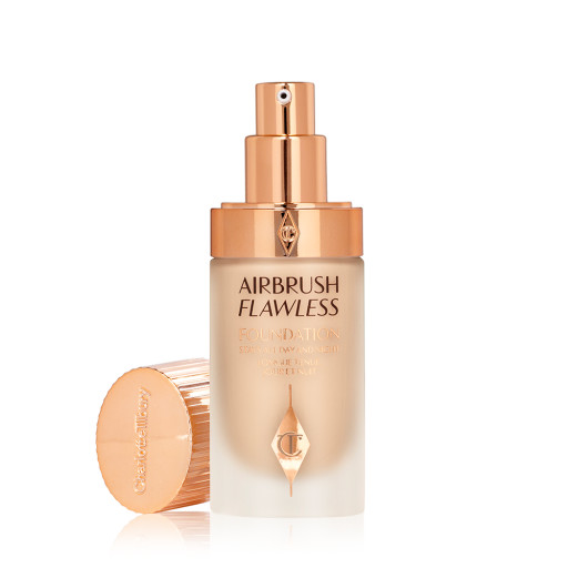 Airbrush Flawless Foundation 5 neutral open with lid Packshot