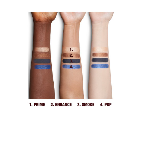 Super Blue Luxury Palette Eyeshadow Arm Swatch