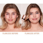 Airbrush Flawless Foundation 3 cool before and after