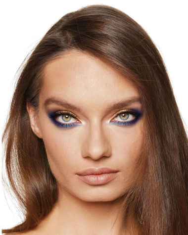 Eye Colour Magic Luxury Palette blue Model9 R6