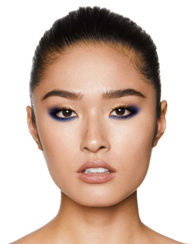 Eye Colour Magic Luxury Palette blue Model6 R6