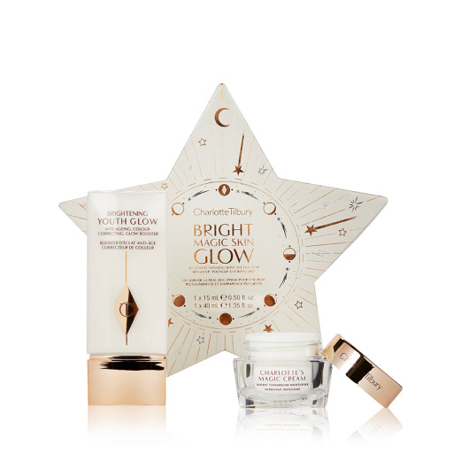Bright Magic Skin Kit Pack Shot with Brightening Youth Glow and Travel Size Magic Cream