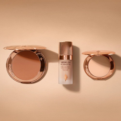 Airbrush Bronzer, Airbrush Flawless Foundation and Airbrush Flawless Finish