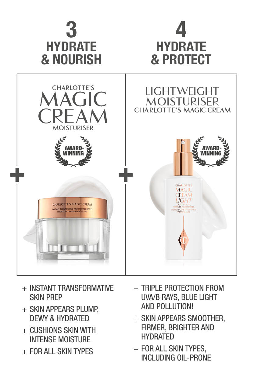 2nd half of Charlotte's Skincare Routine including Charlotte's Magic Cream