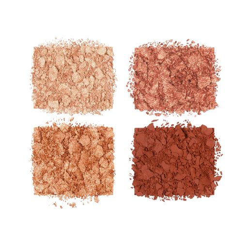 Luxury Palette Copper Charge Eyeshadow Swatch