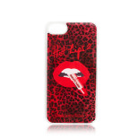 HOT LIPS 2.0 IPHONE 8 CASE - RED LEOPARD