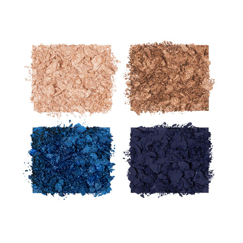 Super Blue Luxury Palette Eyeshadow Swatches