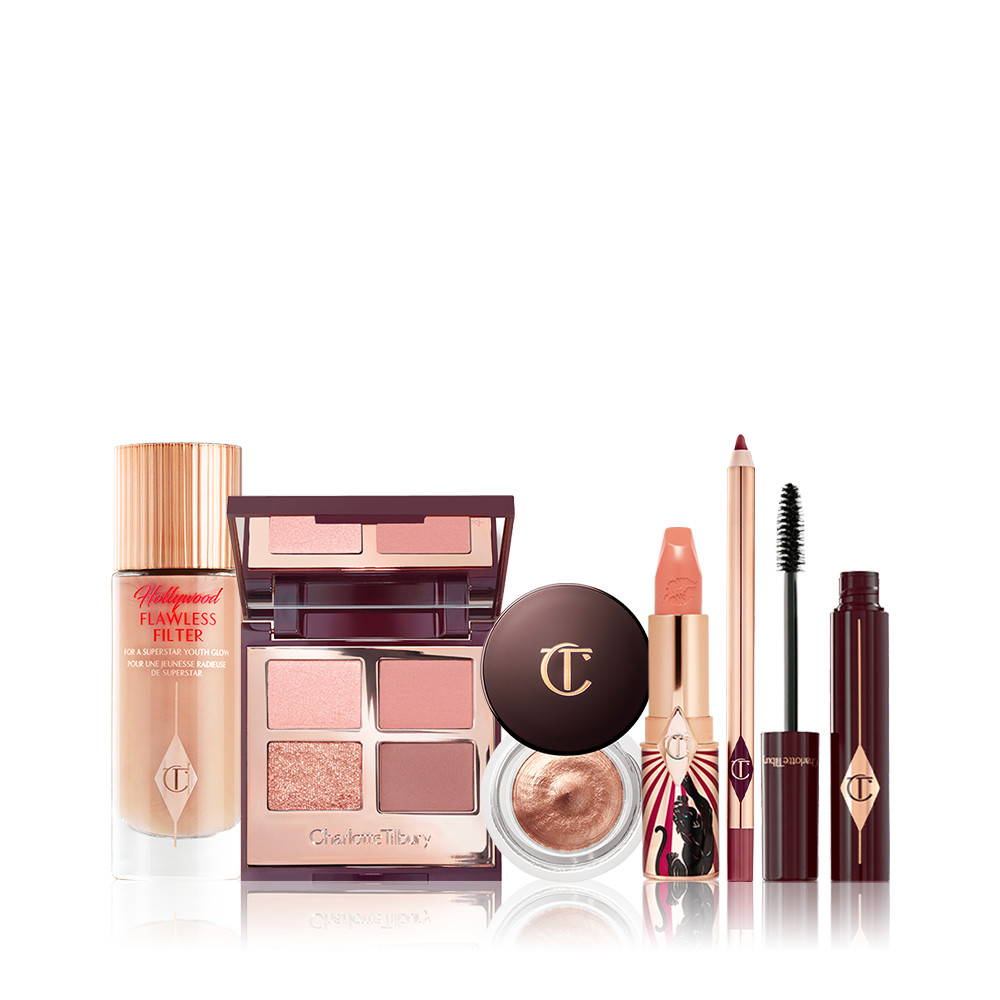 A magical makeup kit featuring Sofia Tilbury\\\'s favourite, beautifying makeup icons for your face, eyes & lips!