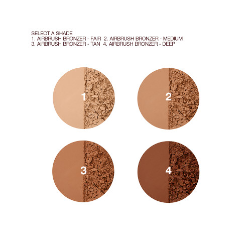 Airbrush Bronzer Swatches