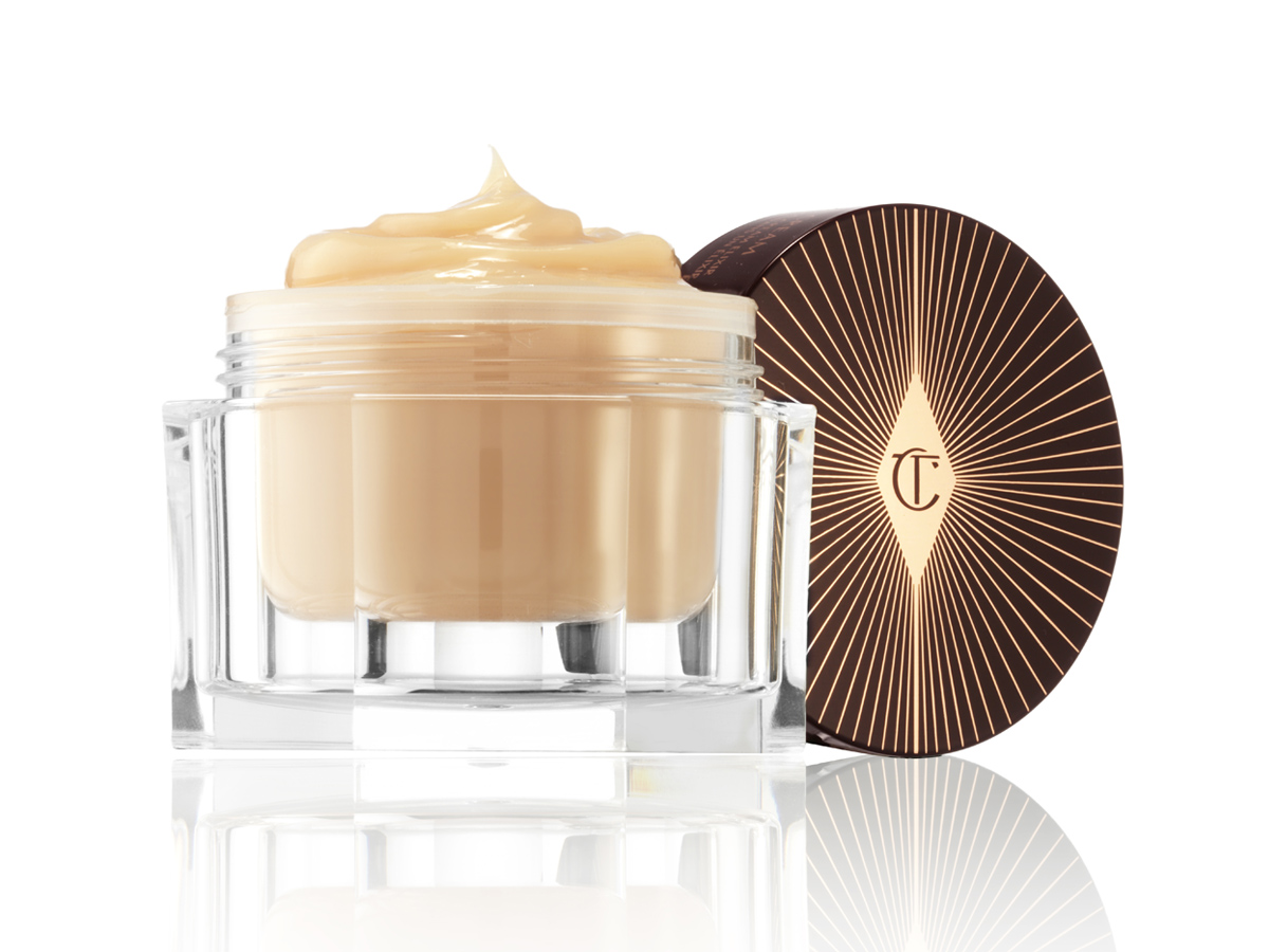 CHARLOTTE TILBURY-MAGIC NIGHT CREAM-LID-OFF-LOW-ANGLE resized