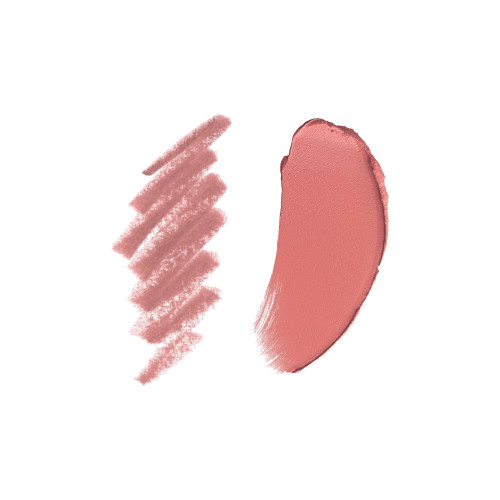 Pillow Talk Lip Cheat and Matte Revolution swatch