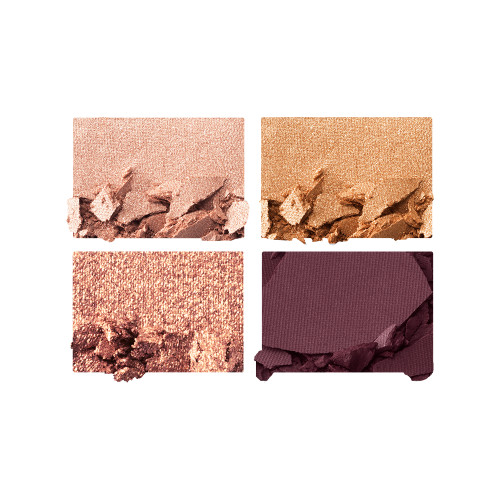 The Queen of Glow Luxury Palette Eyeshadow Swatches