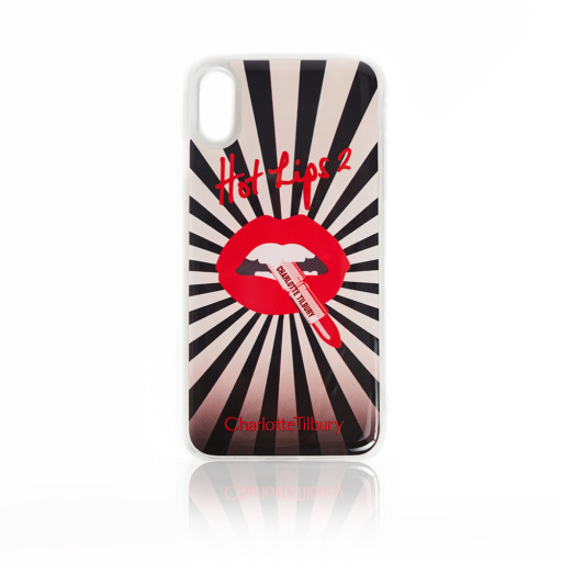 Hot Lips 2 Merchandise Iphone XS Case In Infinity Starburst