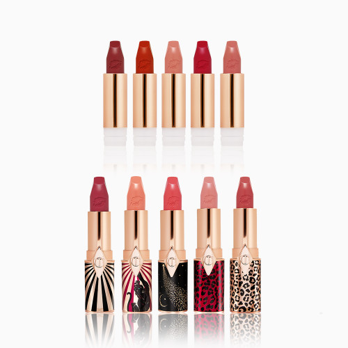 Hot Lips 2 lipsticks Wardrobe Holiday Gift Set