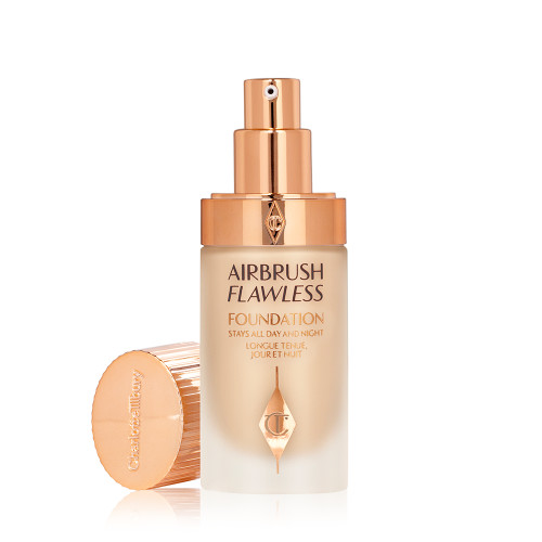 Airbrush Flawless Foundation 4 warm open with lid packshot