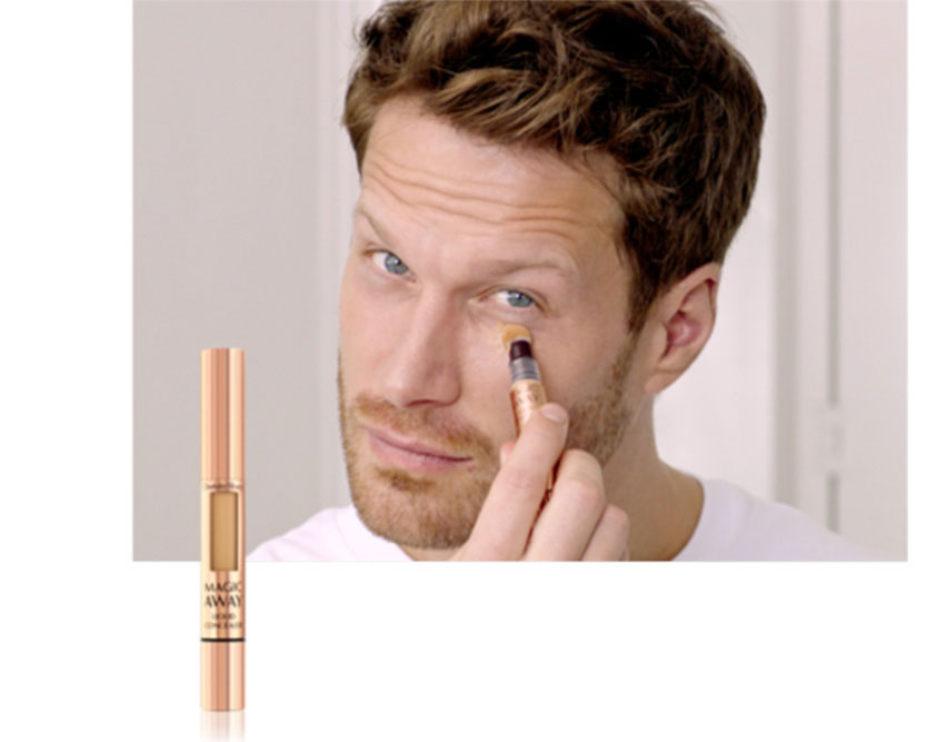 Makeup for Men Step 3