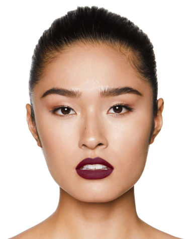 Charlotte Tilbury Matte Revolution Glastonberry Lipstick Lips Model