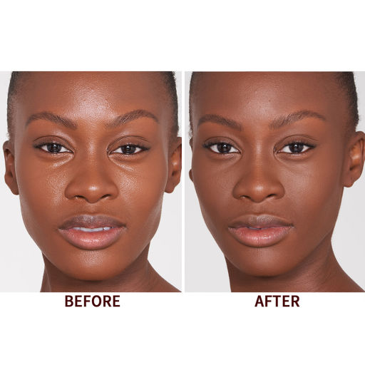 Airbrush Flawless Finish Deep Model Before & After