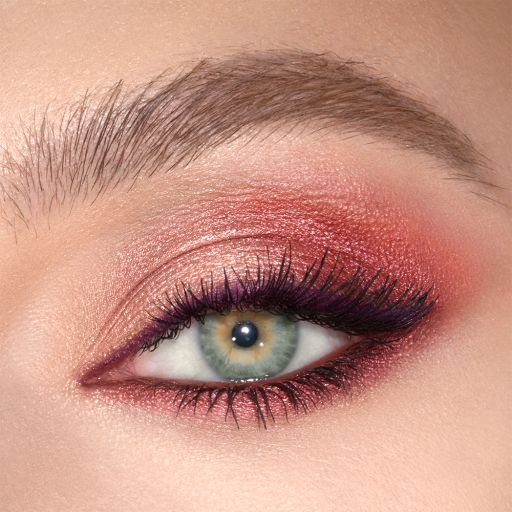Luxury Palette Mesmerising Maroon Eyeshadow Model