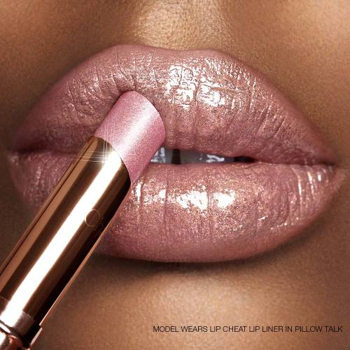 Pillow Talk Diamonds lipstick Model