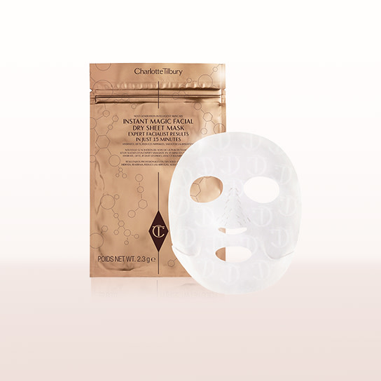 Instant Dry Sheet Face Mask Card Group
