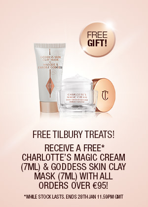 Tilbury Trick Magic Cream and Goddess Clay Mask