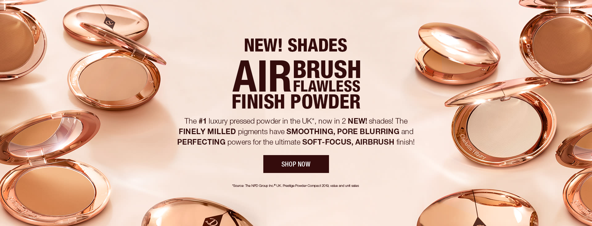 Airbrush Flawless Finish shade extension hero UK