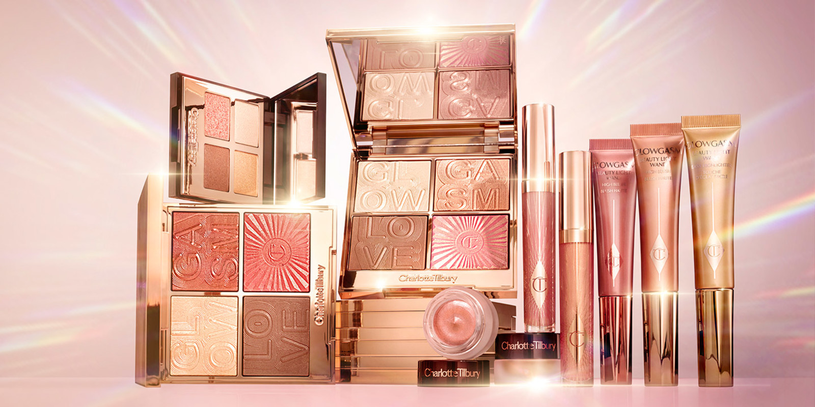 Glowgasm collection products