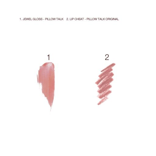 Pillow Talk Jewel Lip Kit Swatch