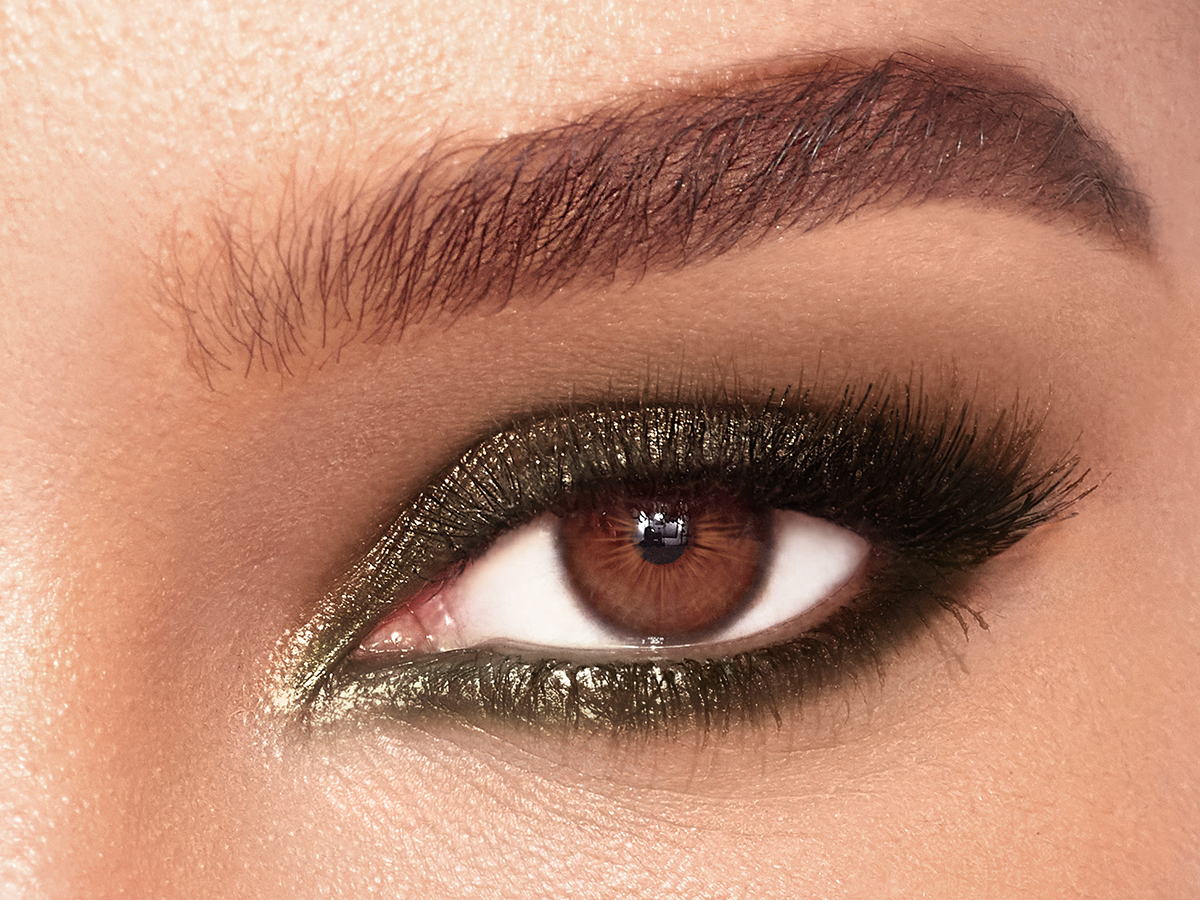 4X3 - colour chameleon smokey emerald single eye crop