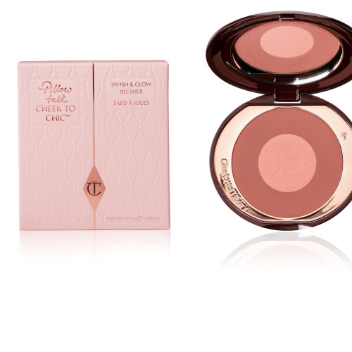 Cheek To Chic Pillow Talk Intense With Pink Packaging