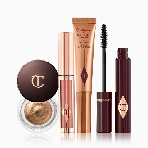 Beauty on the go night look product packshots