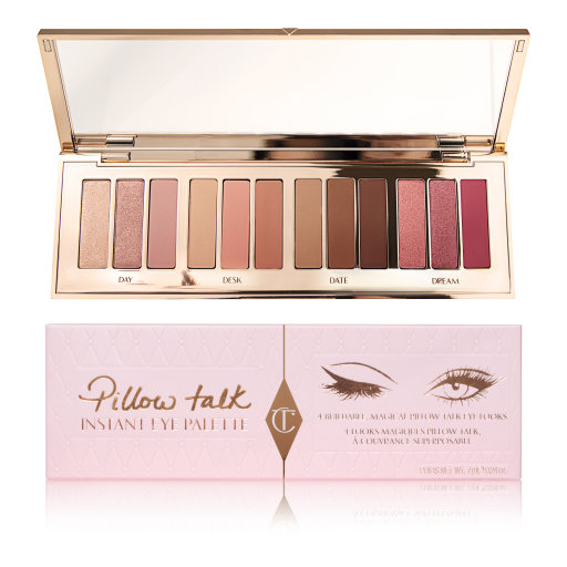 Pillow Talk Instant Eye Palette Pink Packaging