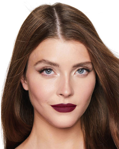 Charlotte Tilbury Matte Revolution Glastonbury Lipstick Lips Model 3