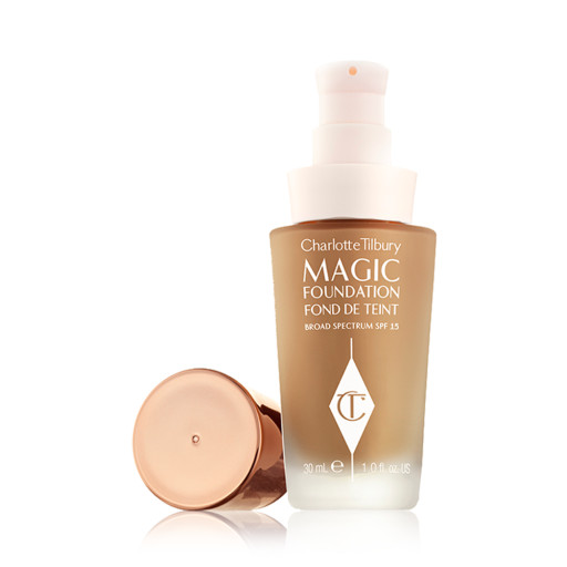 CHARLOTTE TILBURY-MAGIC FOUNDATION-LID OFF#9.5