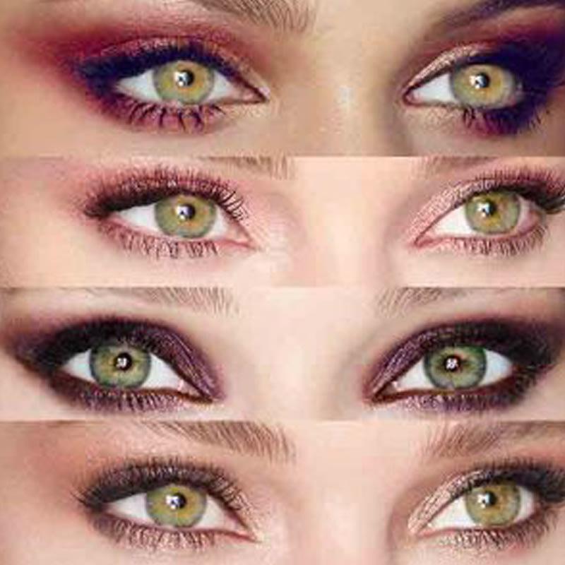 The Best Eyeshadow Colours for Green Eyes